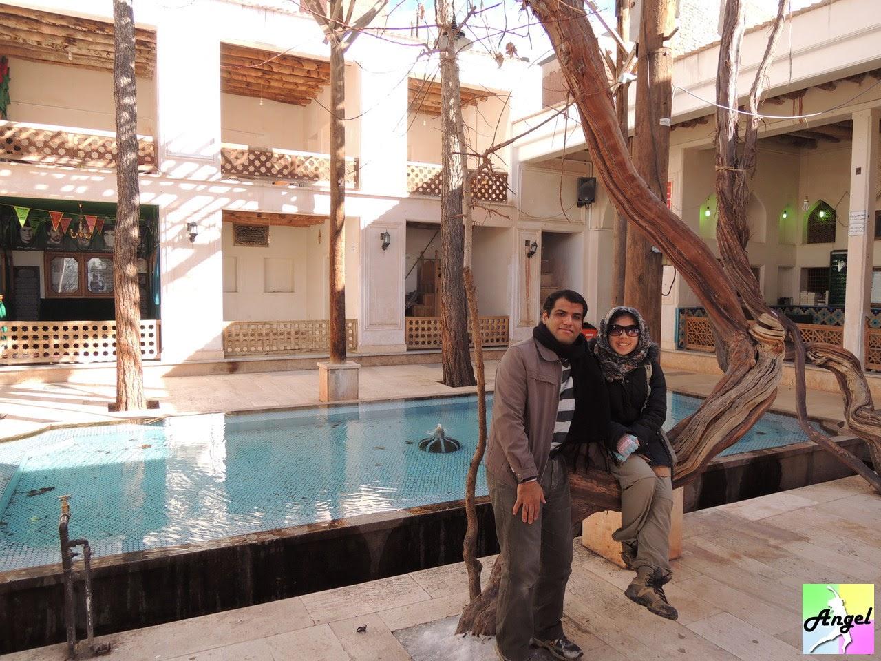 abyaneh kashan mosque iran