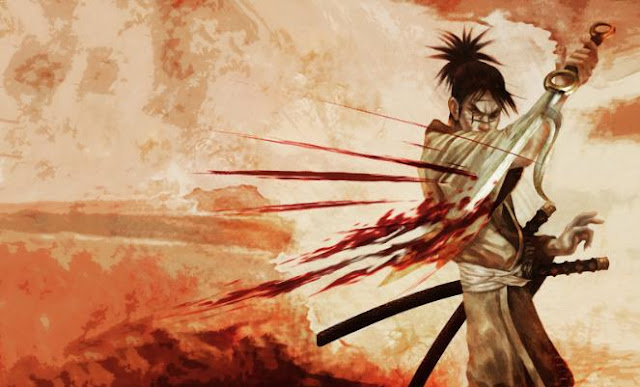 Manji ( Blade of the Immortal ) - Top Immortal Anime Characters
