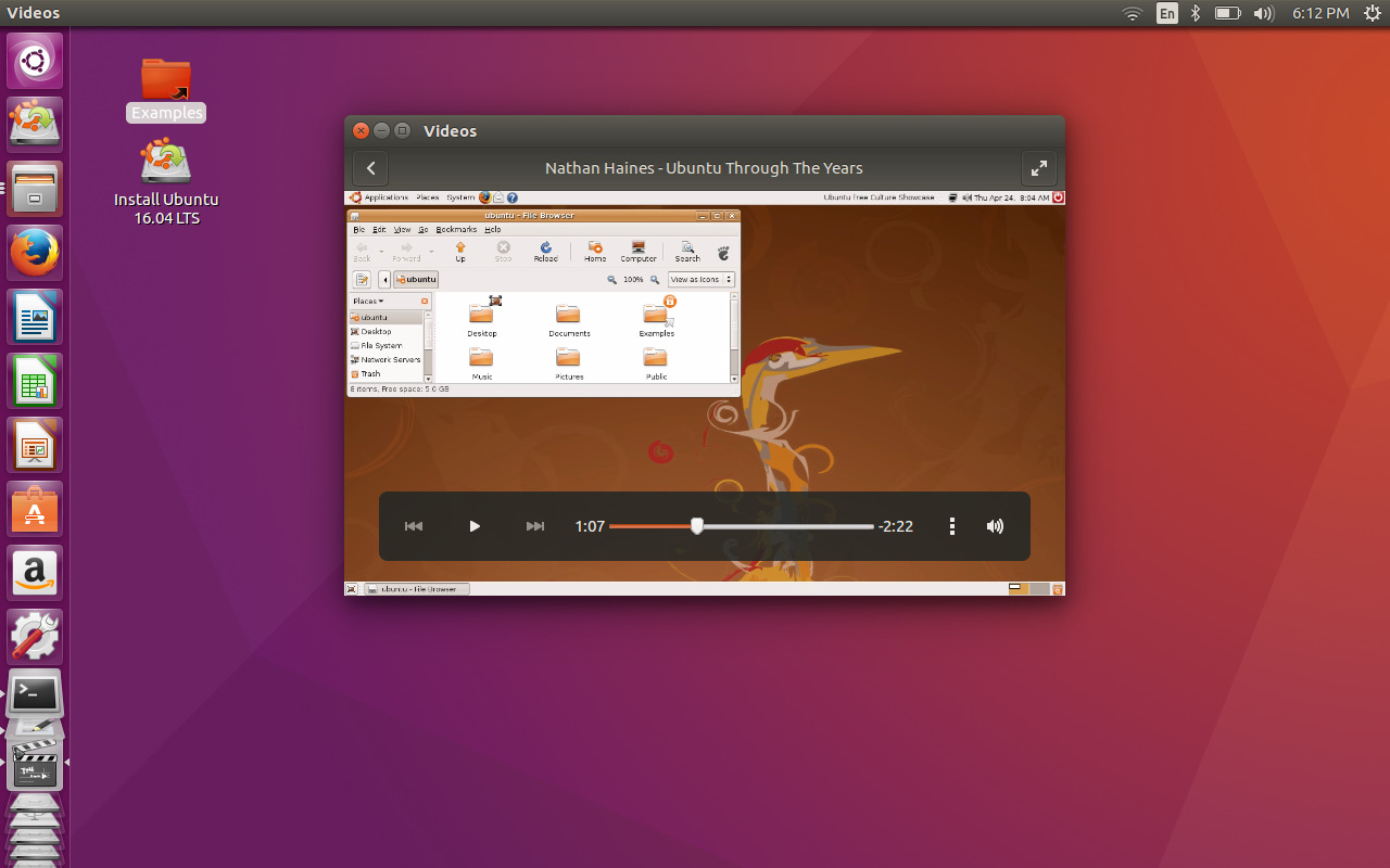 ubuntu 1604 lts xenial xerus screenshots distroscreens