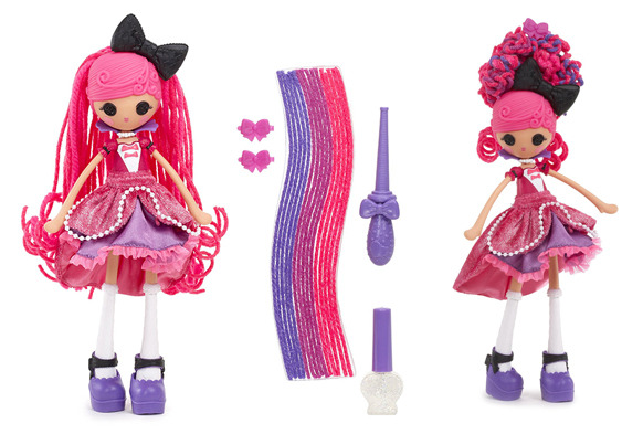 Lalaloopsy Girls Crazy Hair Doll- Confetti Carnivale