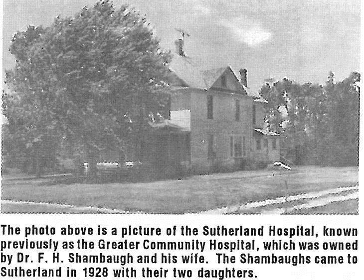 Sunday Stories Sutherland Hospitals