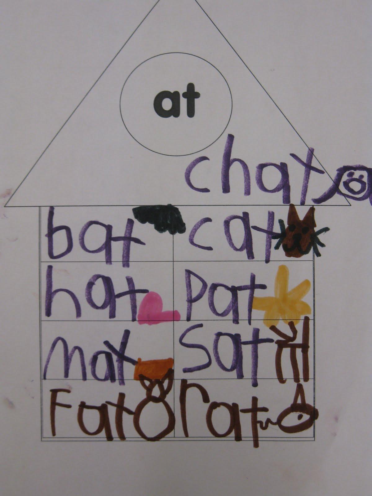 Joyful Learning In Kc Word Family Houses