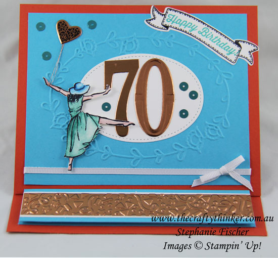 Stampin Up, #thecraftythinker, 2017 Occasions & Sale-A-Bration sneek peek, #crazycraftersbloghop, Beautiful You, Hey Chick, Stampin Up Australia Demonstrator, Stephanie Fischer, Sydney NSW