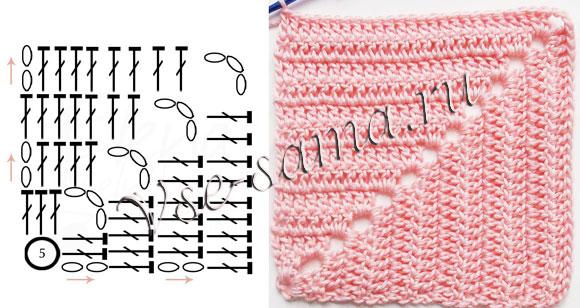 Blue Star Afghan Crochet Pattern