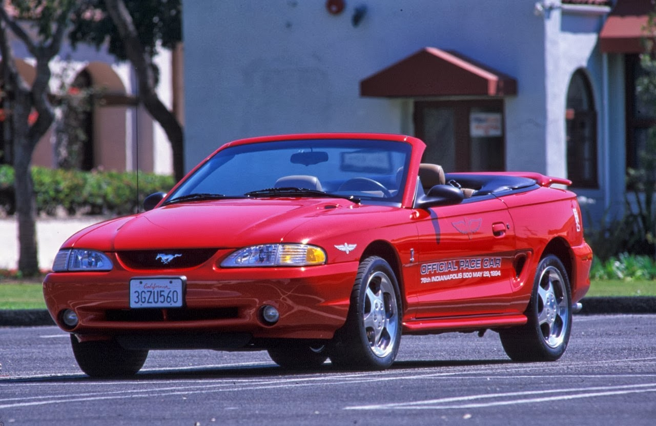 Ford Mustang Through The Years Photos