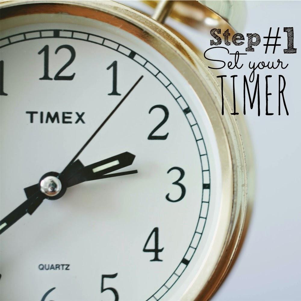 Step 1_set timer