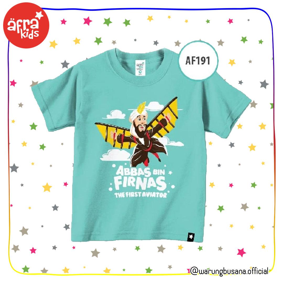 Afrakids Kaos Anak AF191 Abbas Bin Firnas