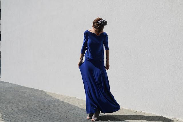 blog po 30-ce, maxi dress, Novamoda streetstyle, novamoda style, novamoda stylizacje, summer style