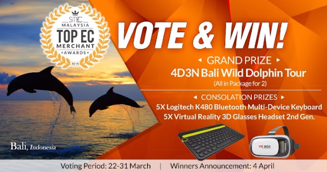Top E-Commerce Merchant Awards: Vote & Win
