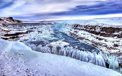 Six cascades du sud de l'Islande