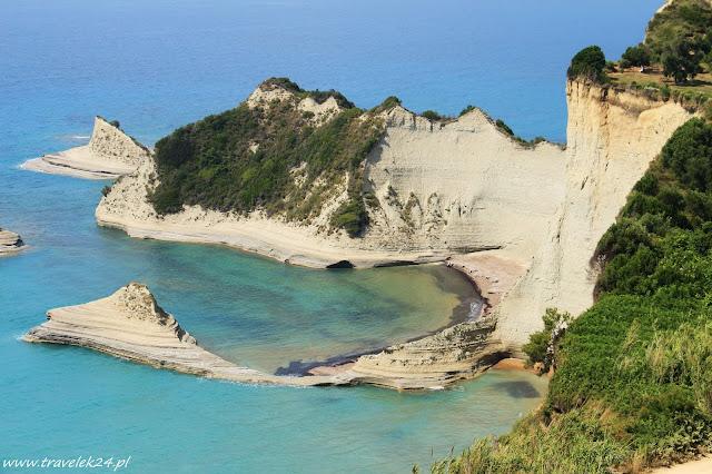 Korfu, Cape Drastis