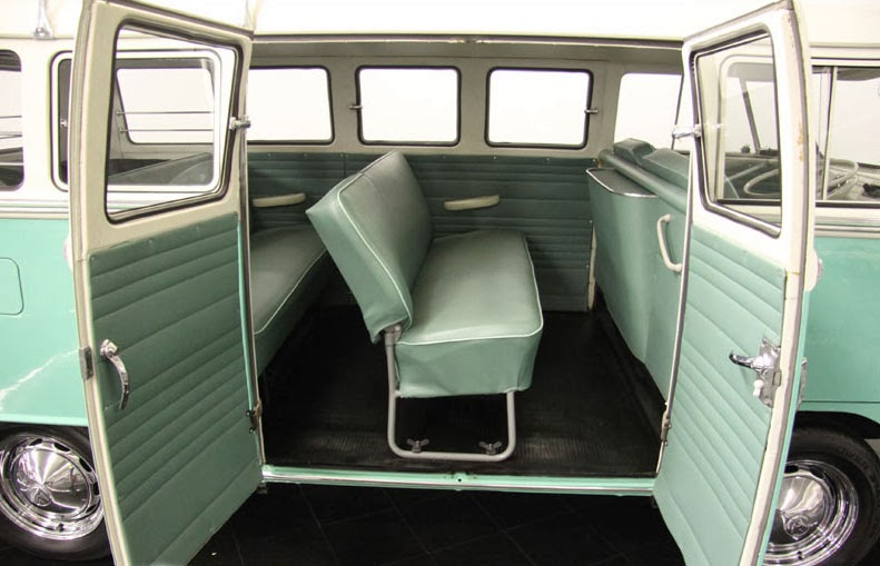 1964 Vw Microbus Deluxe 13 Window Vw Bus