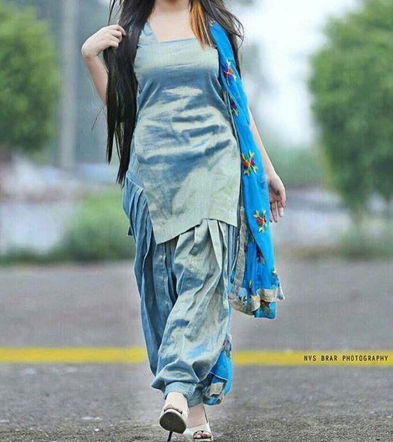 Beautiful Girl in Punjabi suit