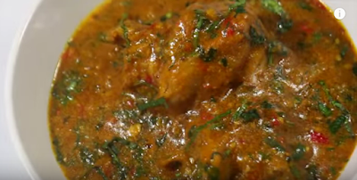 How to cook a delicious ogbono soup with clear step by step video
