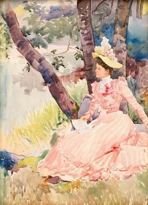 A Summer Day, Rhoda Holmes Nicholls