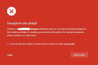 Cara Menghapus Virus malware Blog