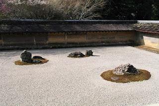 www.fertilmente.com.br - Ryoan Ji, o Jardim de Pedra do estilo Zen Budista
