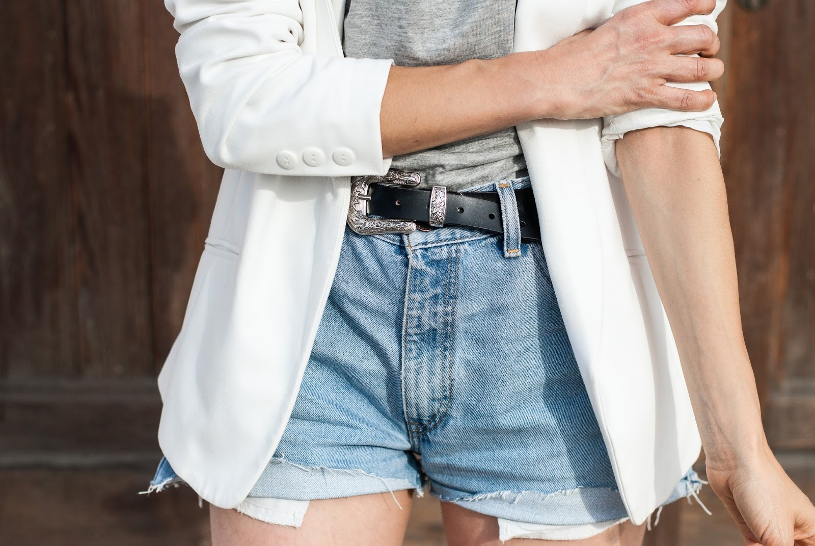 White blazer Pimkie