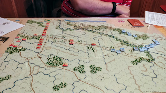 Wargaming Night - GMT Germantown - First session