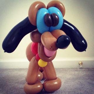 Gambar Balon Karakter Puppy_Anak Anjing Lucu_Balloon Character Puppy_20