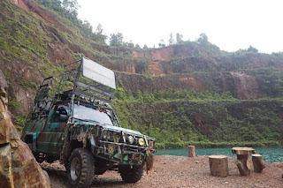 Open Pit Nam Sa  Lu Belitung Timur