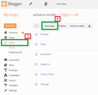ringankan loading blog - blogger dashboard