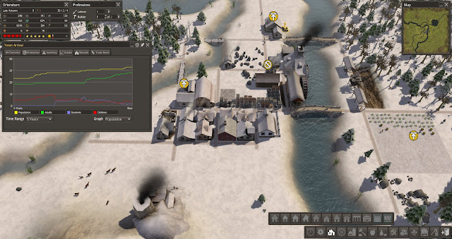 Town Arrivals | Banished Screenshot