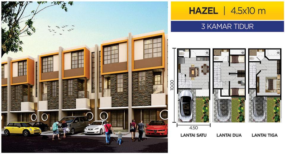 Rumah PIK 2 Cluster MIAMI Tipe HAZEL