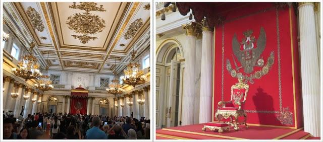 Museu Hermitage ( São Petersburg )