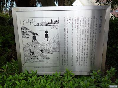 京橋川魚市場跡の説明