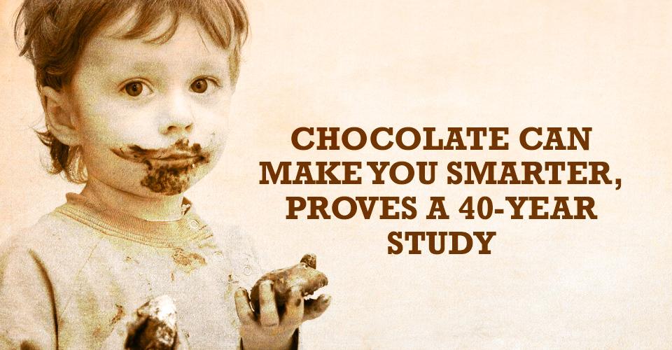 chocolate, smarter