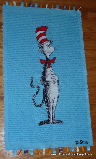 Ruff Ruminations Five Must Have Camping Beach Toys: Ruff Ruminations: Cat In The Hat Baby Blanket