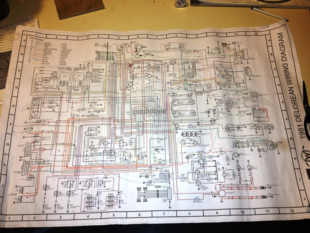 Delorean Wiring Diagrams Control Diagram Craig Radio