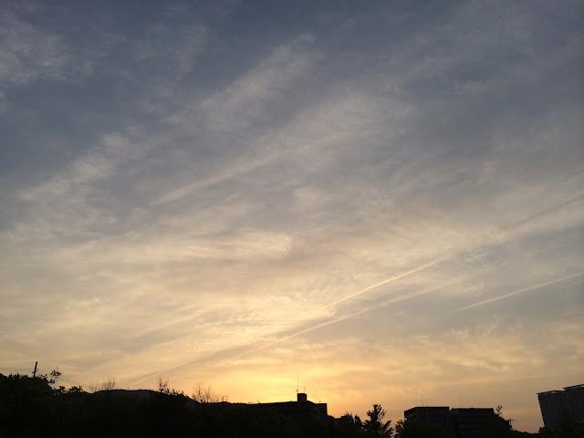 イメージ画像:夜明け