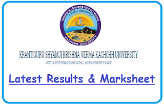 Kachchh University Result Nov Dec 2019
