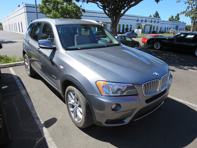 BMW X3 after collision repairs at Almost Everything Auto Body.