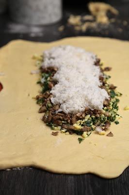 Coulibiac, Kulebyaka, saumon riz, recette russe