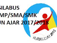 Kumpulan RPP Silabus SD/SMP/SMA/SMK Kurikulum 2013 Terbaru Tahun 2017