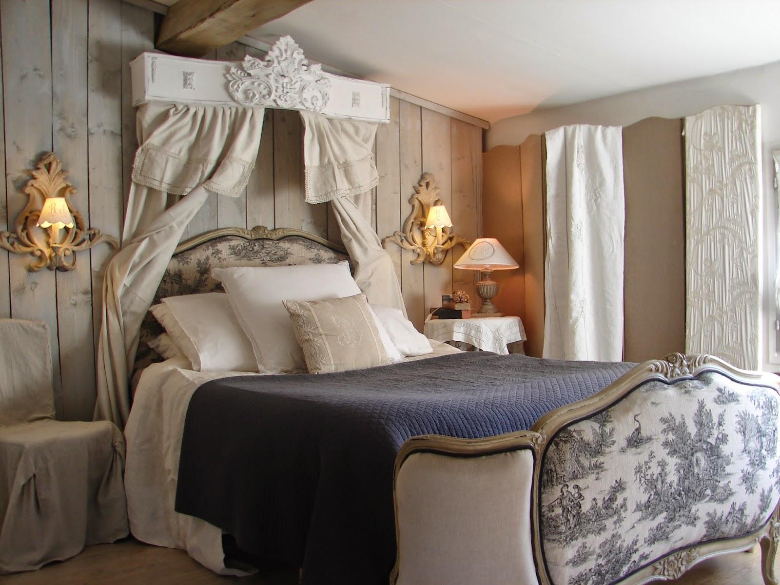 Décoration Chambre Adulte Style Romantique | Photos Déco Idées ...