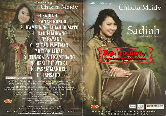 Chikita Meidy - Sadiah (Album Minang Terbaru)