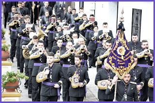 La Banda de Cornetas y Tambores del Nazareno de Almogía abrirán la procesión de la Sentencia de Málaga el próximo Martes Santo