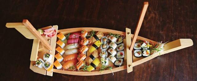 Fakta Kesehatan dan Manfaat Sushi, makanan pencegah kanker, sushi