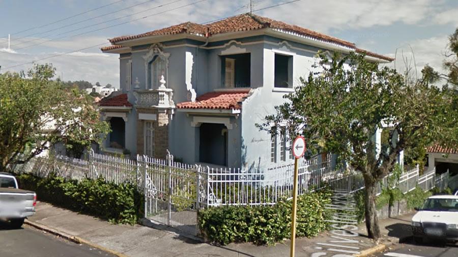 Foto da Residencia da Familia Sertorio em Pinhal
