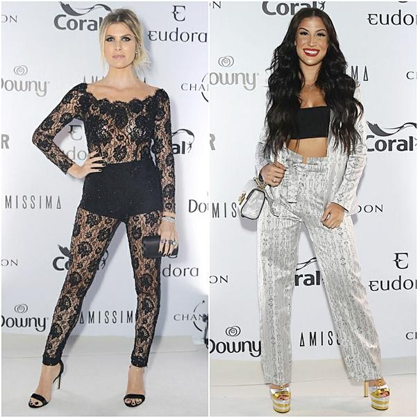 Looks Premio Geração Glamour 2018 bianca andrade julia faria