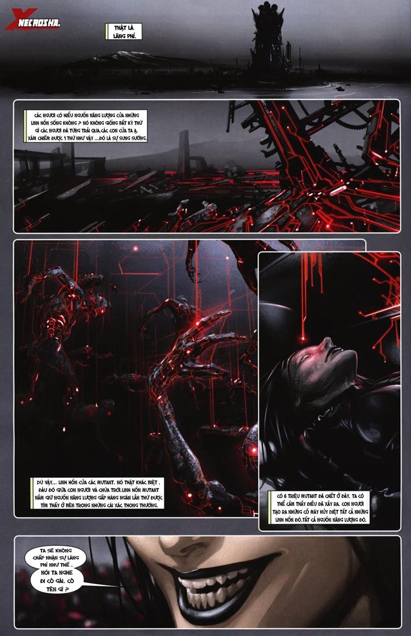 X-Men Necrosha chap 6 trang 3