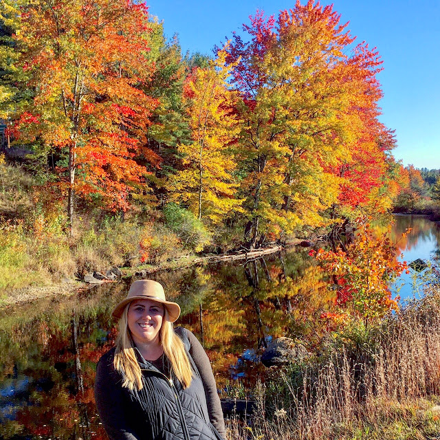 Contoocook River Fall Foliage