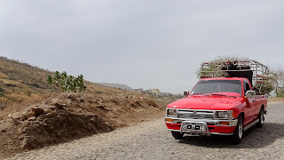 Around Cape Verde with a self drive car