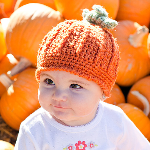 Pumpkin Harvest Hat - Free Pattern