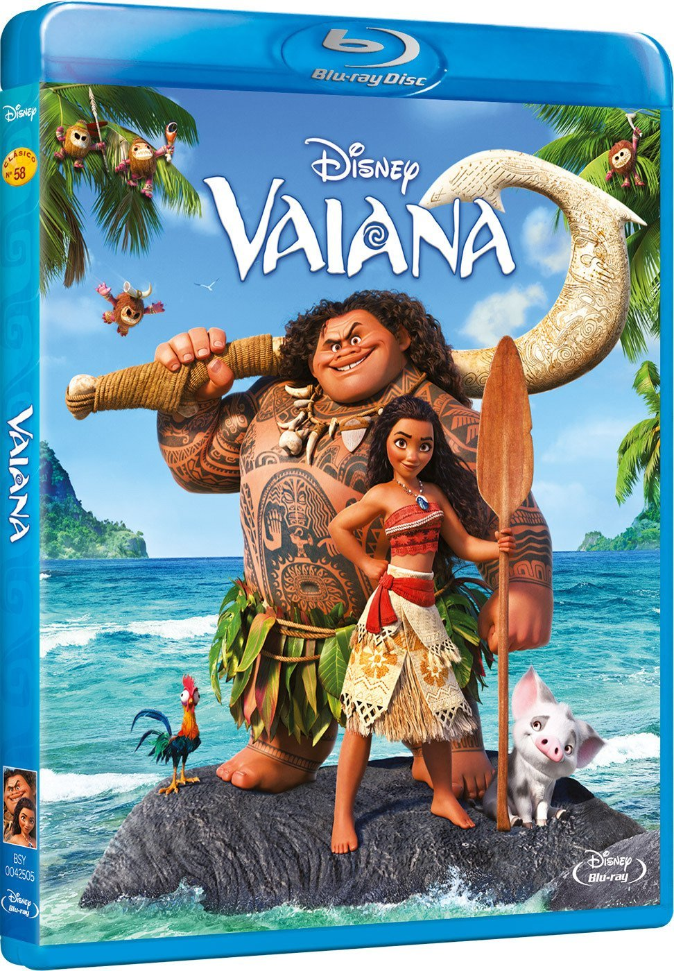 vaiana preenta bluray