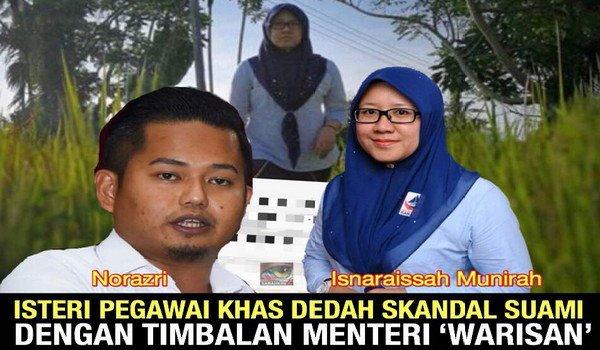 Isteri Pegawai Khas dedah skandal seks suami dengan Timbalan Menteri 'Warisan'